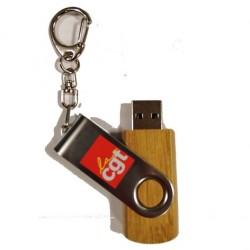CLEF USB BOIS 32G