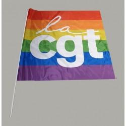 DRAPEAU LGBT 1 M X 0.90 M