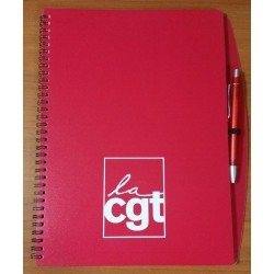 CAHIER SPIRALES   + STYLO...
