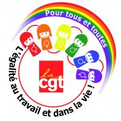 TAPIS DE SOURIS ROND  LGBT