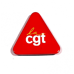 BADGE TRIANGE CGT